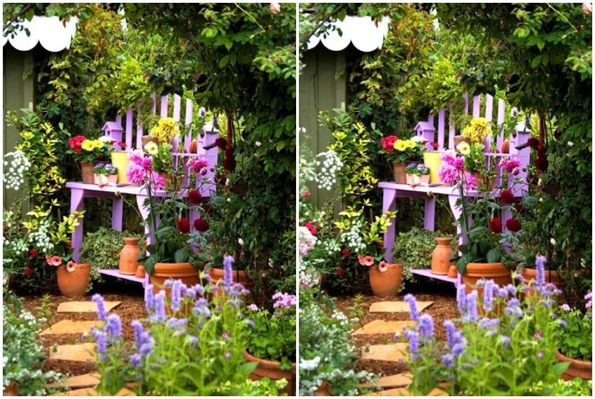 Stari se namještaj u novom ruhu može itekako iskoristiti u vrtu - potrebno je dodati samo malo sveže i intezivne boje