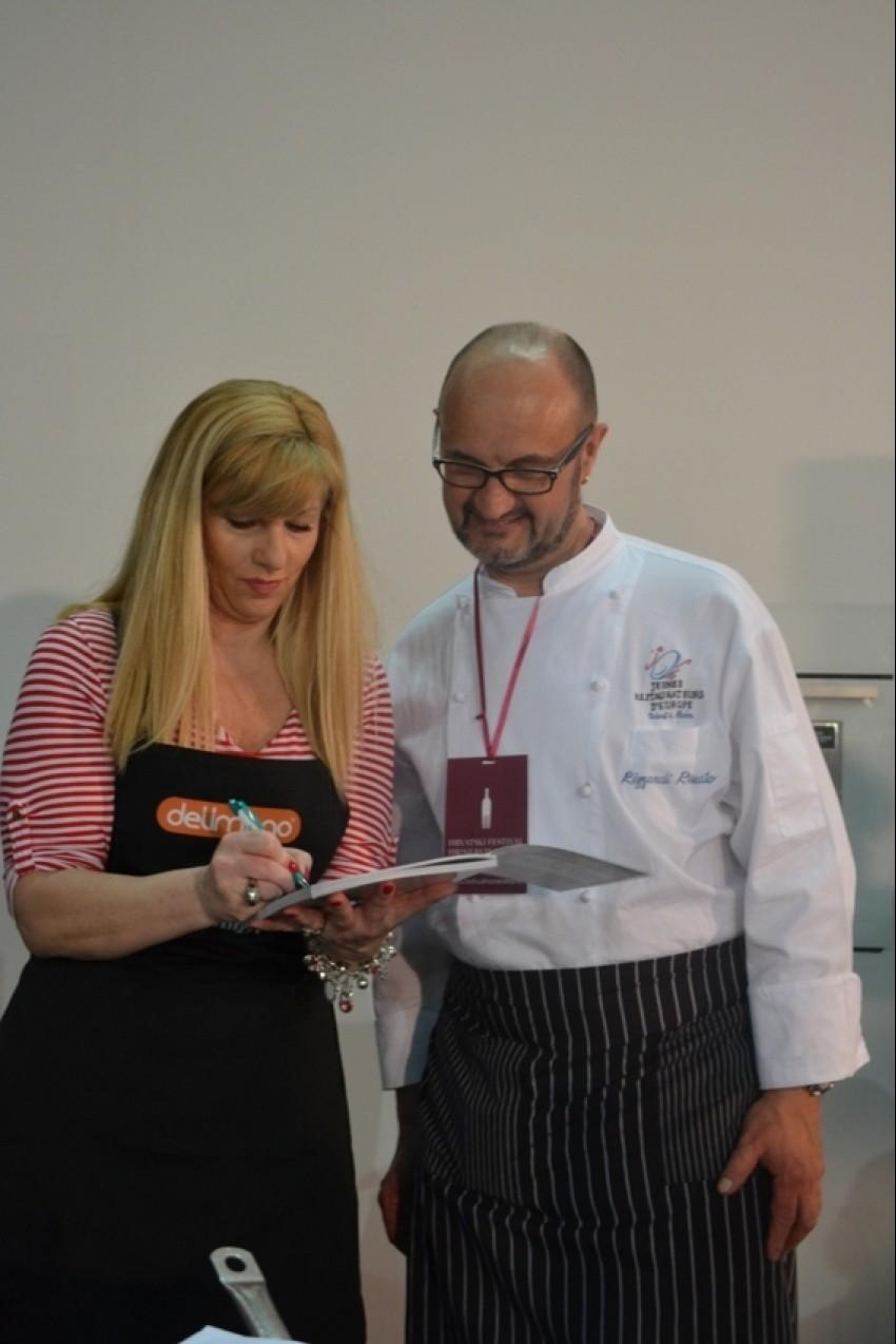 Suzy Josipović Redžepagić potpisuje svoju kuharicu chefu Renatu Rizzardiju