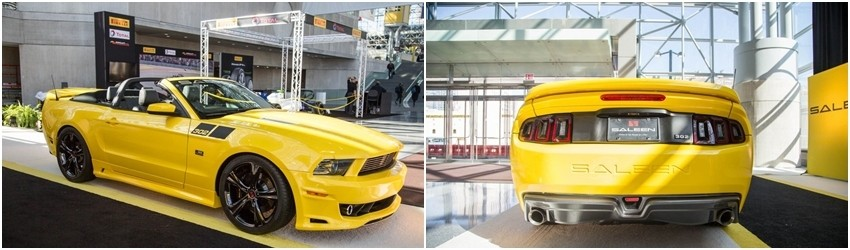 Saleen 302 Black Label Mustang: $114,000