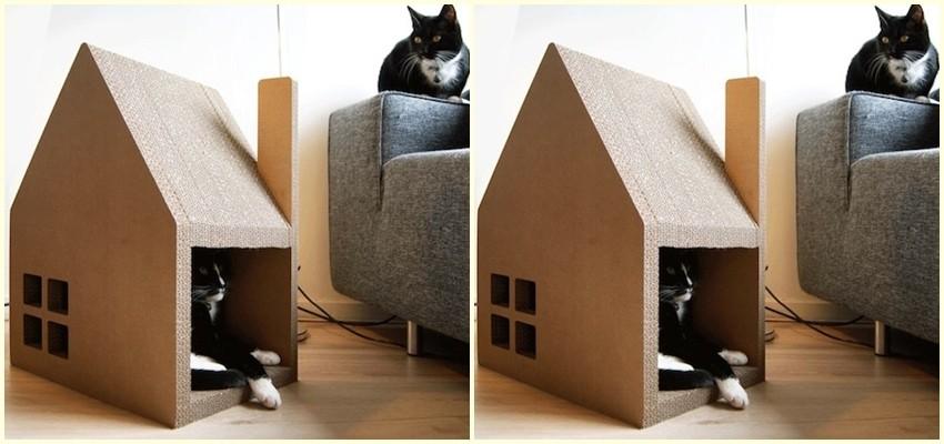 Nabavite svojoj mački ovu kuću - obožavat će je