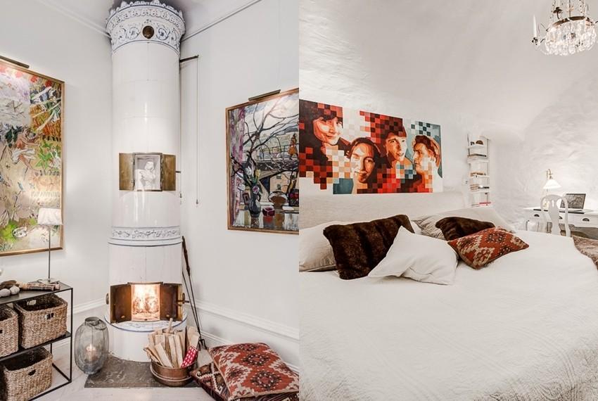 Neobična kombinacija stilova za predivno uređen dom