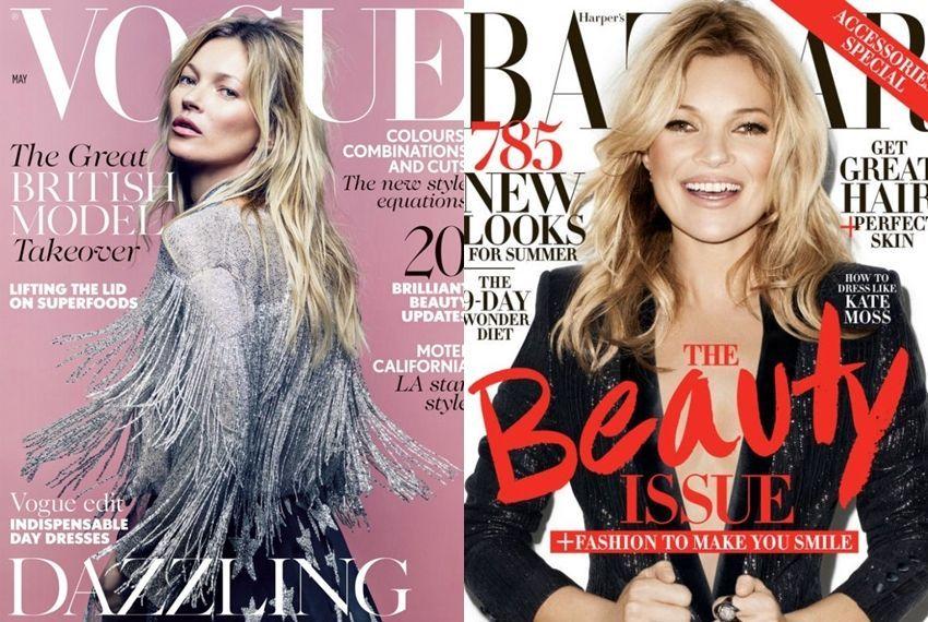 Svibanjske naslovnice Voguea i Harper's Bazaara
