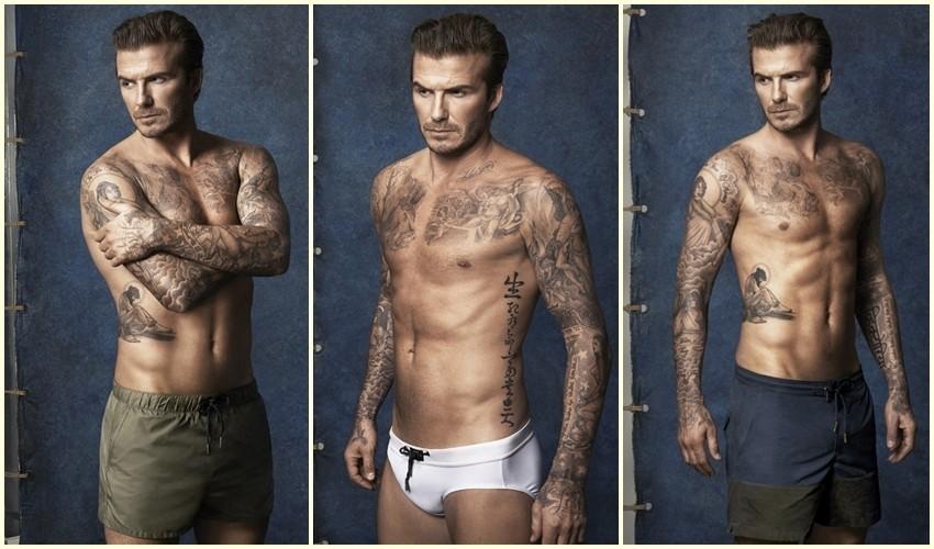 Beckham kupaći H&M