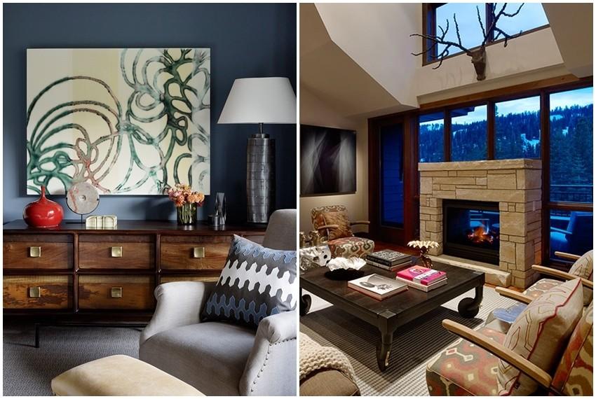 Za unutrašnje uređenje kuće zaslužan je proslavljeni dizajner interijera Jay Jeffers