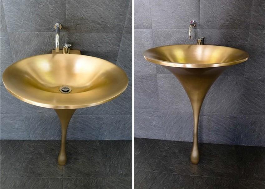 Moderni i pomalo ekstravagantni umivaonik učinit će vašu kupaonicu jedinstvenom
