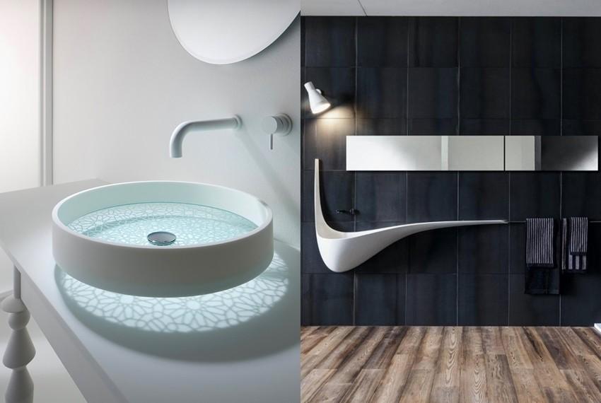Moderni i kreativni umivaonici za uređenje kupaonice