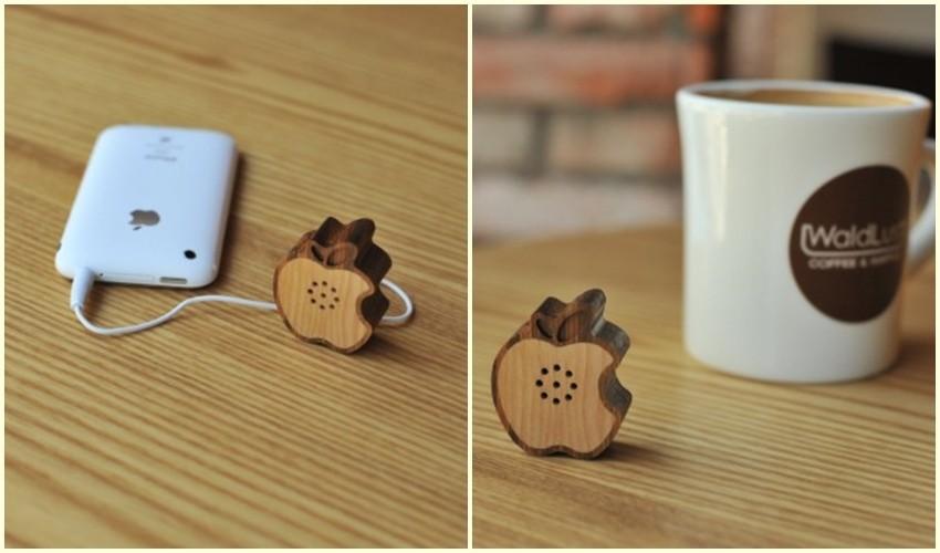 Mali jabuka zvučnik za vaš iPhone