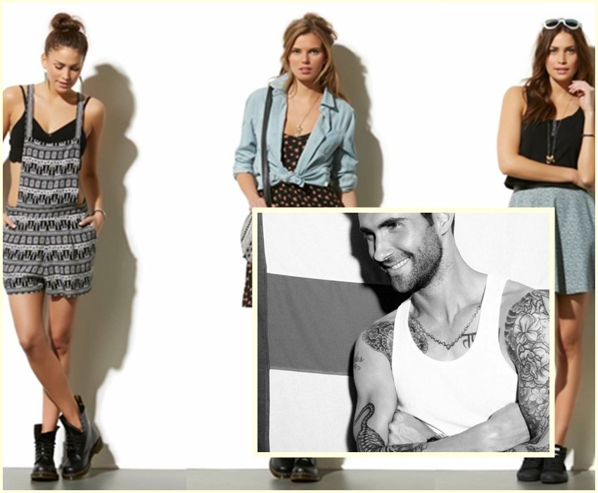 Adam Levine Kmart kolekcija