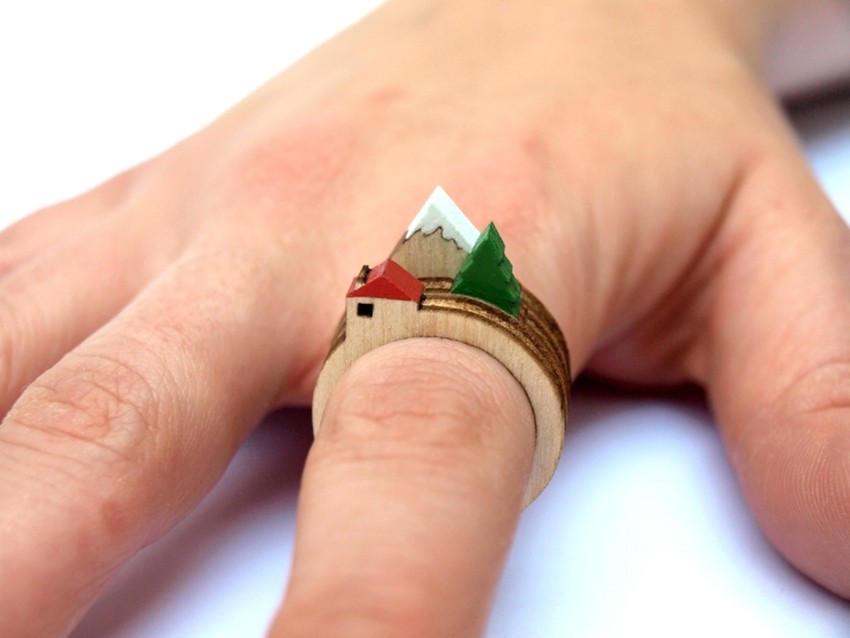 Želimo ove otkačene drvene prstene