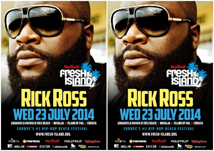 Novi headliner Fresh Islanda je hit reper Rick Ross