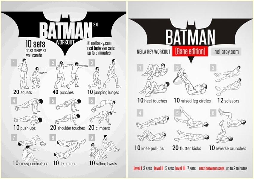 Sada možete trenirati poput superheroja