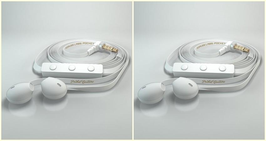 Želimo ove minimalističke bijele slušalice