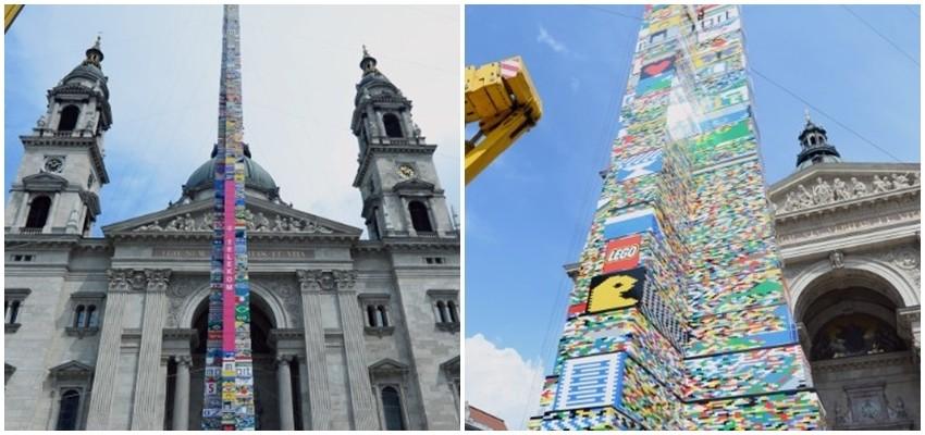 U Budimpešti je izgrađen najviši Lego toranj na svijetu