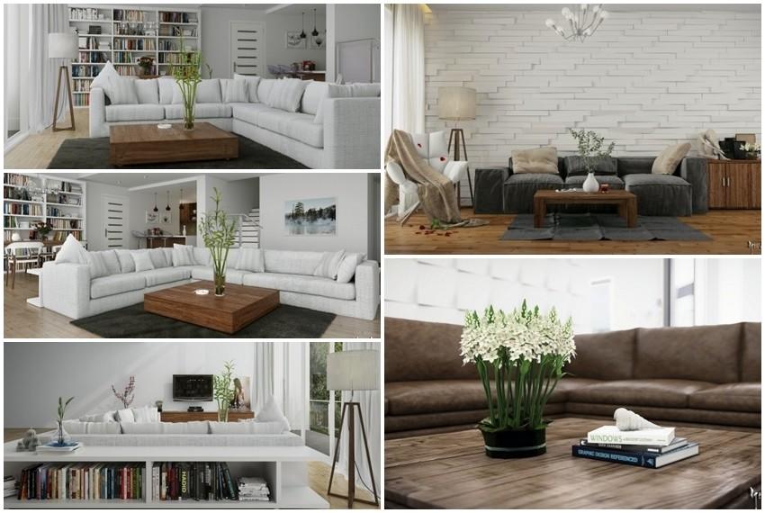 Moderni interijeri u kojima drveni i rustikalni detalji čine savršenu ravnotežu