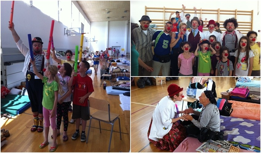 CRVENI NOSEVI posjetili Prihvatni centar u Cernom