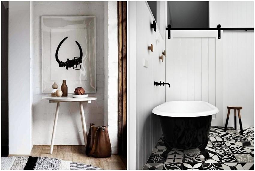 Interijer je inspiriran skandinavskim stilom koji se izvrsno uklopio u ambijent farme