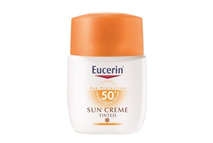 Eucerin tonirana krema za lice za lice za zaštitu od sunca, SPF 50+, 50ml