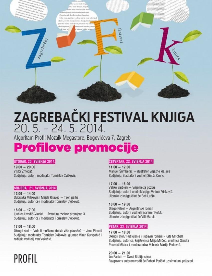 Program Zagrebačkog festivala knjiga