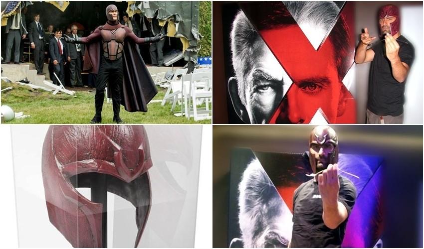 Ivan Šarić kao Magneto