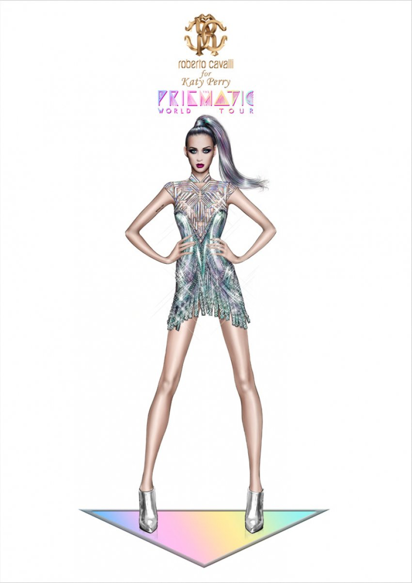 Ovako Roberto Cavalli vidi Katy Perry