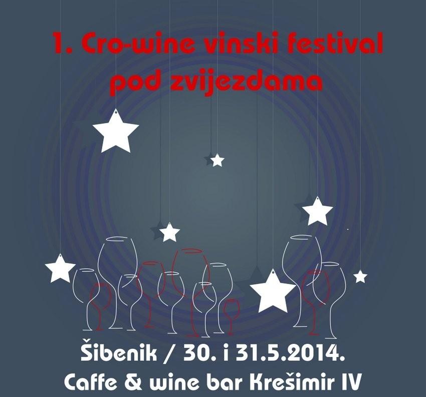 Prvi Cro-wine festival pod zvijezdama u Šibeniku