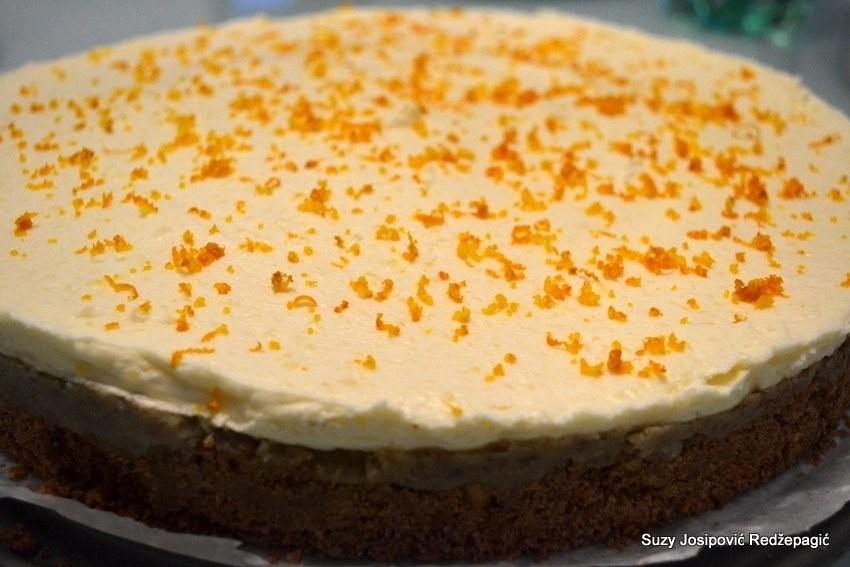 Torta bajadera bez pečenja
