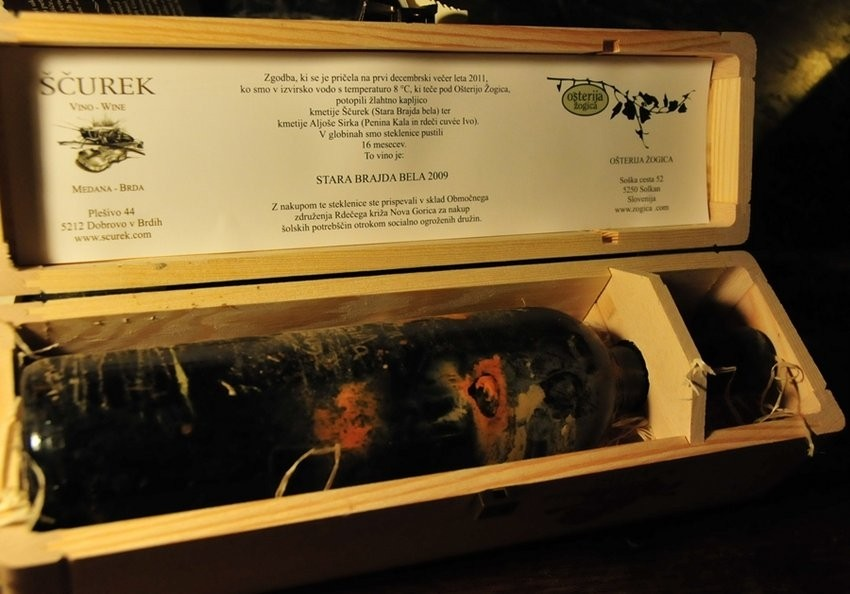 Stara brajda belo - vino s aukcije, vinoteka Bornstein