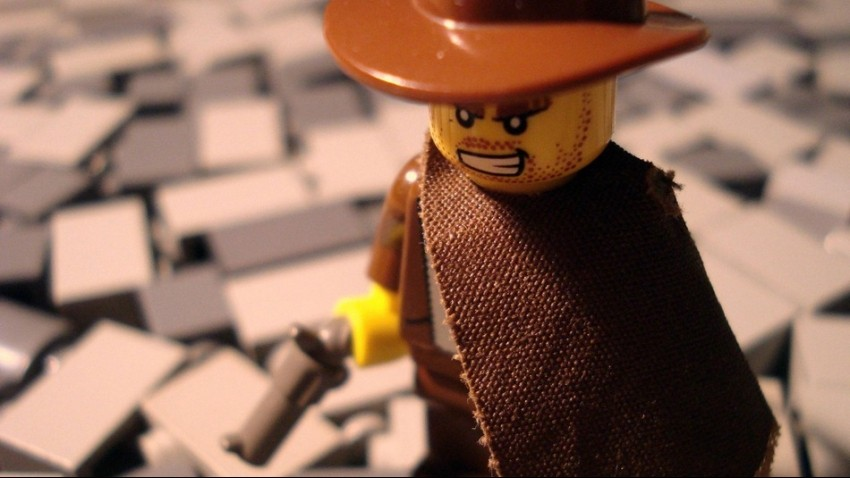 LEGO The good the bad and the ugly