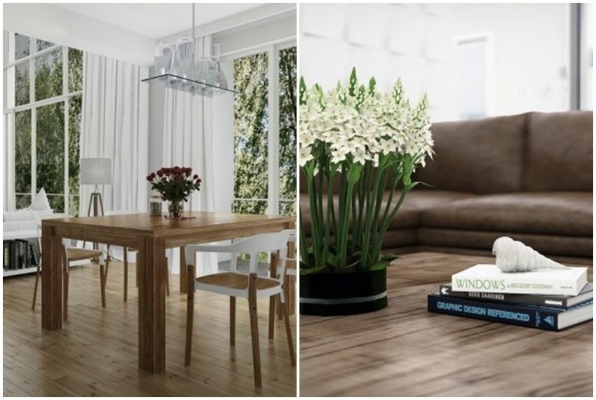 Namještaj od drva unijeti će u vaš dom dozu prirode i topline
