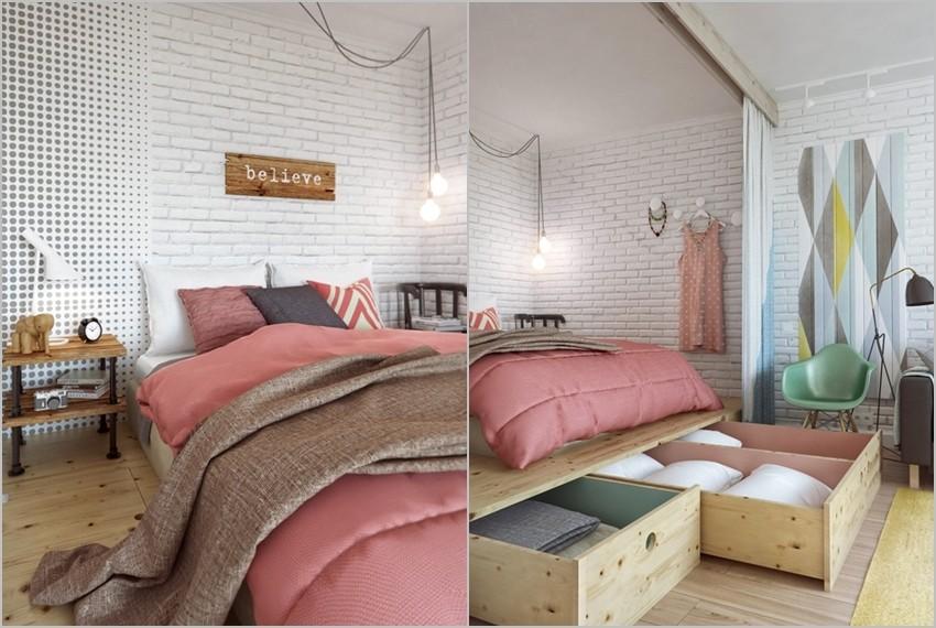 Neodoljivo uređen mali stan od 45 m2 u Moskvi