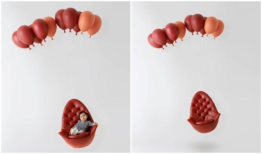 Obožavamo ovu lebdeću fotelju