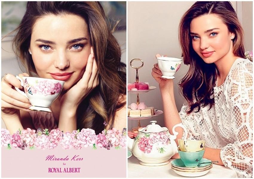 Miranda Kerr dizajnira šalice za čaj
