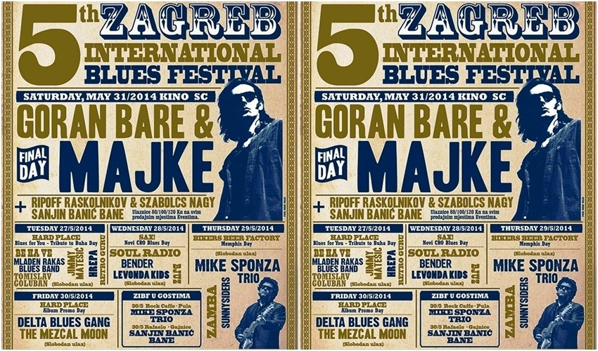 5th Zagreb International Blues Festival