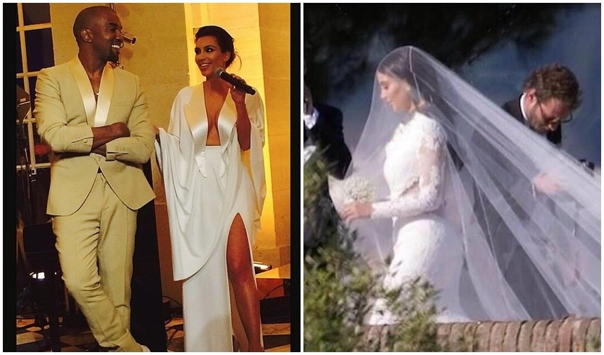 Kanye West i Kim Kardashian napokon vjenčani