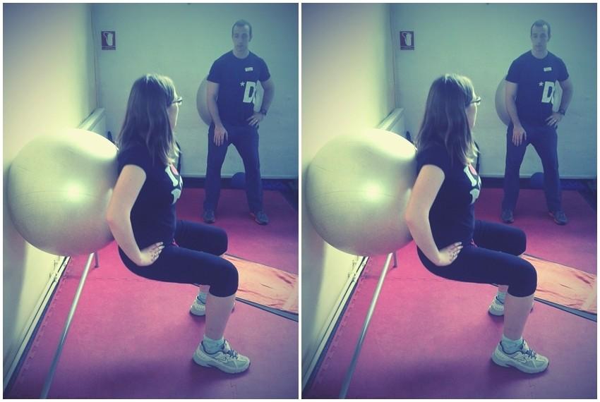 Za elegantno oblikovane mišiće, pilates lopta je idealan izbor