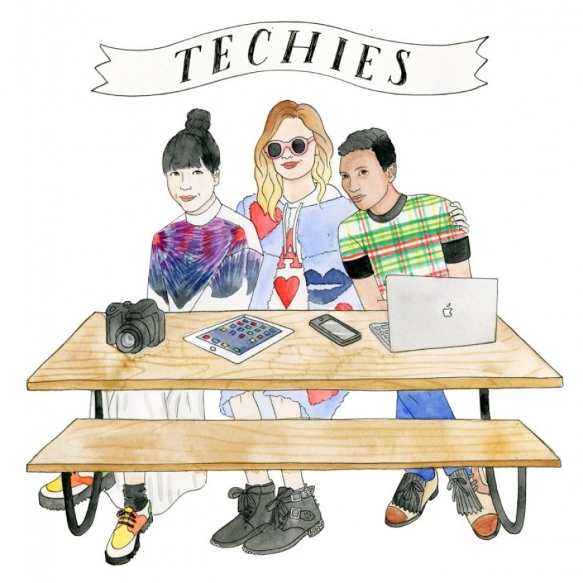 Bryanboy, Chiara Ferragni & Susie Bubble