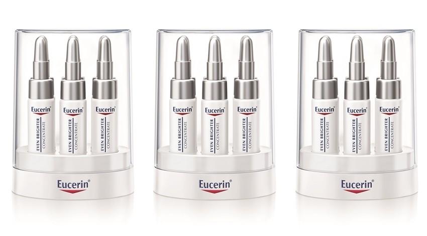Eucerin Even Brighter koncentrat za smanjenje pigmentacijskih mrlja, 6 ampula x 5 ml