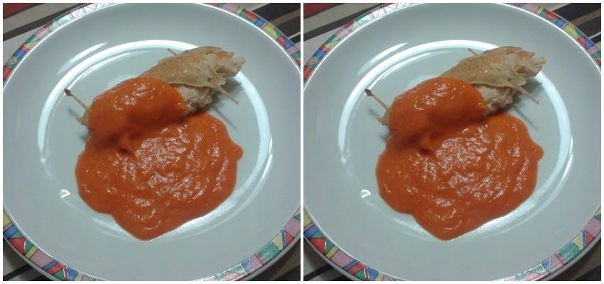 Sexy do ljeta: Punjena piletina s umakom od paprike