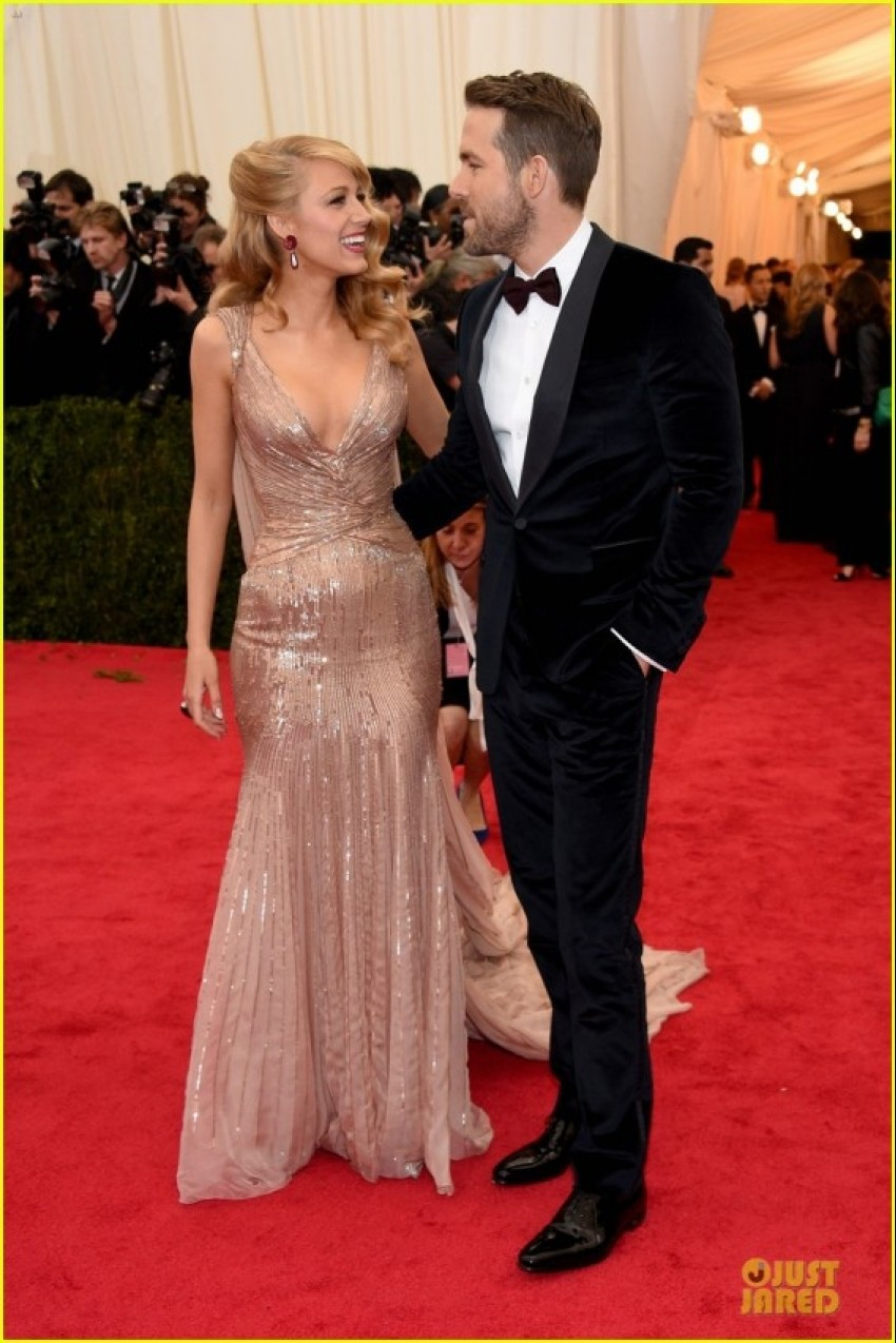 Blake Lively i Ryan Reynolds, GUCCI