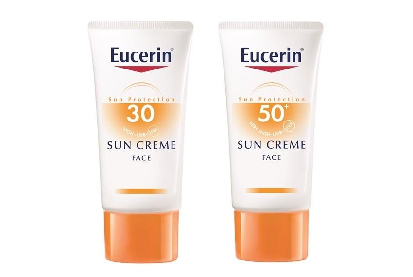 Eucerin krema za lice za lice za zaštitu od sunca, SPF 30 i SPF 50+, 50ml