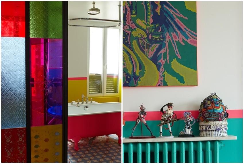 Vesele boje i eklekticizam dominiraju u stanu indijskog dizajnera