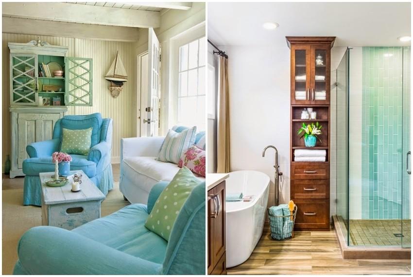 Tirkizna boja osvježava dom i ima smirujući efekt