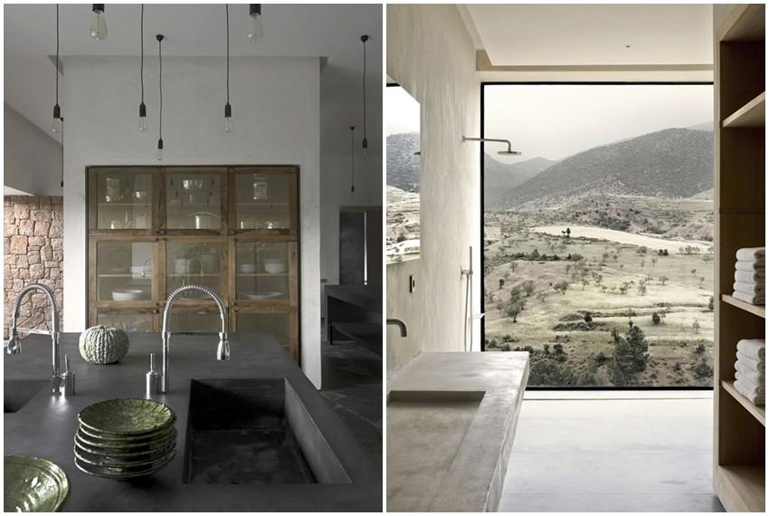 Suvremena vila u planinama Maroka