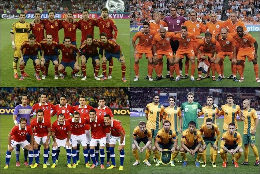 Svjetsko nogometno prvenstvo, Brazil 2014, Skupina B