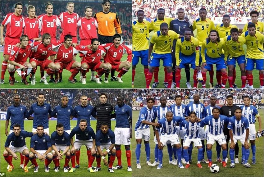 Svjetsko nogometno prvenstvo, Brazil 2014, Skupina E