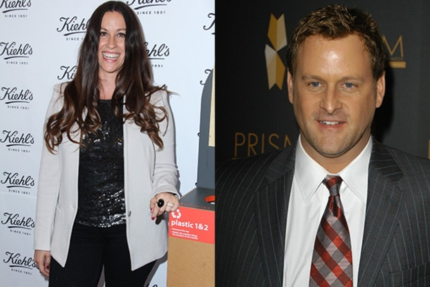 Alanis Morissette & David Coulier