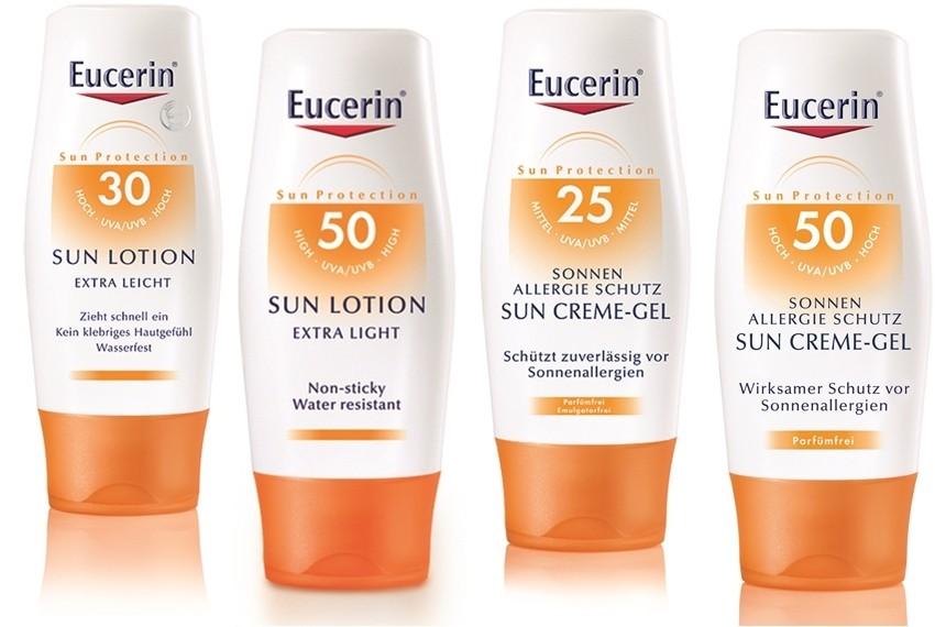 Ekstra lagani losioni za zaštitu od sunca SPF 30 i SPF 50, 150 ml i kreme-gelovi za zaštitu od alergija na sunce SPF 25 i SPF 50, 150 ml