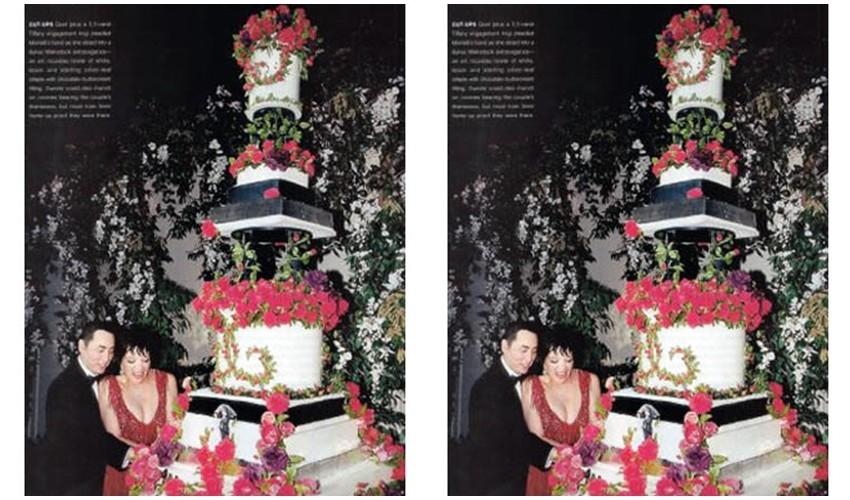 5 najskupljih celebrity vjenčanih torti