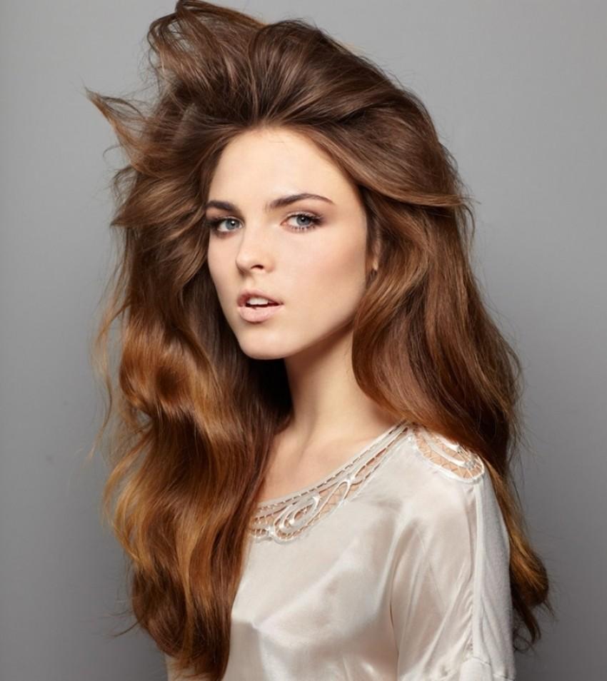 Sexy frizura sa šamponom za suho pranje