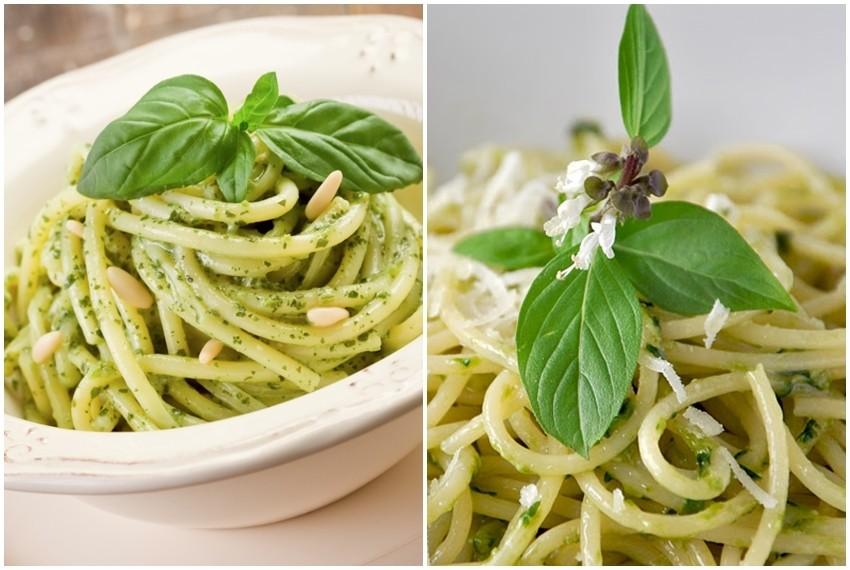 Integralni špageti a la genovese